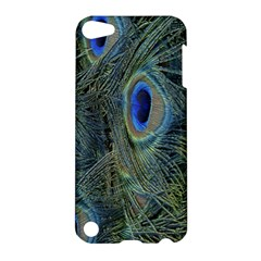 Peacock Feathers Blue Bird Nature Apple Ipod Touch 5 Hardshell Case by Nexatart