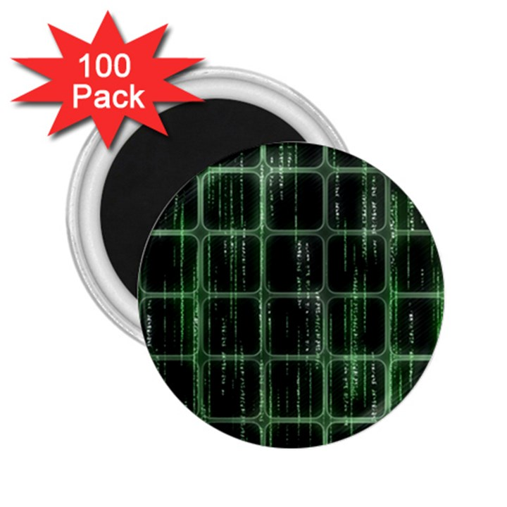 Matrix Earth Global International 2.25  Magnets (100 pack)