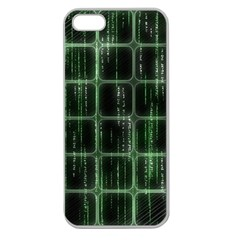 Matrix Earth Global International Apple Seamless Iphone 5 Case (clear)