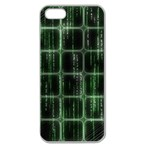 Matrix Earth Global International Apple Seamless iPhone 5 Case (Clear) Front