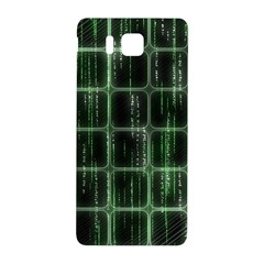 Matrix Earth Global International Samsung Galaxy Alpha Hardshell Back Case by Nexatart