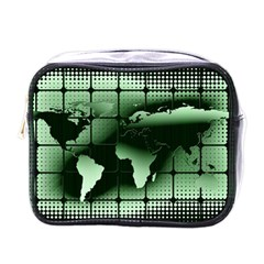 Matrix Earth Global International Mini Toiletries Bags by Nexatart