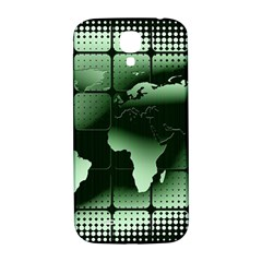 Matrix Earth Global International Samsung Galaxy S4 I9500/i9505  Hardshell Back Case by Nexatart