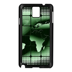 Matrix Earth Global International Samsung Galaxy Note 3 N9005 Case (black) by Nexatart