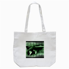 Matrix Earth Global International Tote Bag (white) by Nexatart