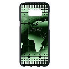 Matrix Earth Global International Samsung Galaxy S8 Plus Black Seamless Case by Nexatart
