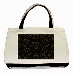 Tile Emboss Luxury Artwork Depth Basic Tote Bag