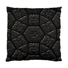 Tile Emboss Luxury Artwork Depth Standard Cushion Case (two Sides) by Nexatart