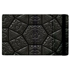 Tile Emboss Luxury Artwork Depth Apple Ipad 3/4 Flip Case