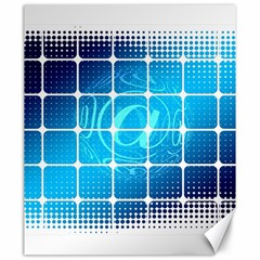 Tile Square Mail Email E Mail At Canvas 20  X 24   by Nexatart