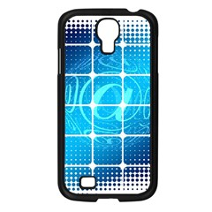 Tile Square Mail Email E Mail At Samsung Galaxy S4 I9500/ I9505 Case (black) by Nexatart