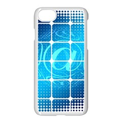 Tile Square Mail Email E Mail At Apple Iphone 7 Seamless Case (white)