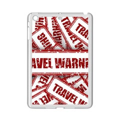 Travel Warning Shield Stamp Ipad Mini 2 Enamel Coated Cases