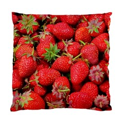 Strawberries Berries Fruit Standard Cushion Case (one Side)