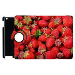 Strawberries Berries Fruit Apple Ipad 3/4 Flip 360 Case