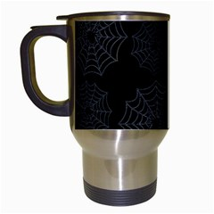 Spider Web Travel Mugs (white)