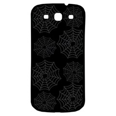 Spider Web Samsung Galaxy S3 S Iii Classic Hardshell Back Case by Valentinaart