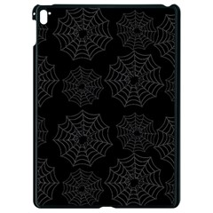 Spider Web Apple Ipad Pro 9 7   Black Seamless Case by Valentinaart