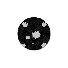 Spider Web And Ghosts Pattern Golf Ball Marker (4 Pack)