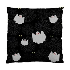 Spider Web And Ghosts Pattern Standard Cushion Case (one Side)