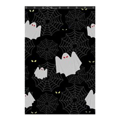 Spider Web And Ghosts Pattern Shower Curtain 48  X 72  (small)  by Valentinaart