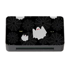 Spider Web And Ghosts Pattern Memory Card Reader With Cf