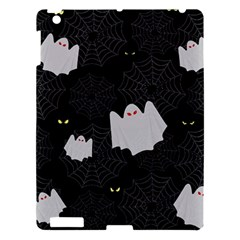 Spider Web And Ghosts Pattern Apple Ipad 3/4 Hardshell Case by Valentinaart