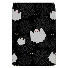 Spider Web And Ghosts Pattern Flap Covers (s)  by Valentinaart