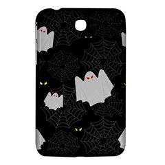 Spider Web And Ghosts Pattern Samsung Galaxy Tab 3 (7 ) P3200 Hardshell Case  by Valentinaart