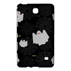 Spider Web And Ghosts Pattern Samsung Galaxy Tab 4 (7 ) Hardshell Case  by Valentinaart