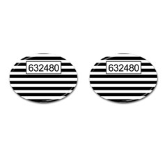 Prison  Cufflinks (oval) by Valentinaart