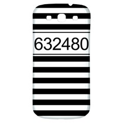 Prison  Samsung Galaxy S3 S Iii Classic Hardshell Back Case by Valentinaart