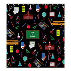 Back To School Shower Curtain 66  X 72  (large)