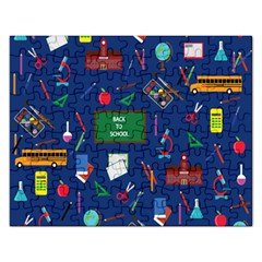 Back To School Rectangular Jigsaw Puzzl