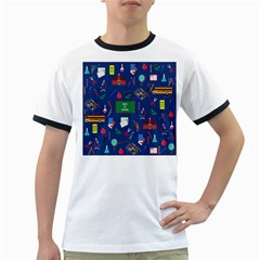 Back To School Ringer T Shirts by Valentinaart