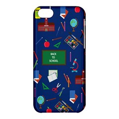 Back To School Apple Iphone 5c Hardshell Case by Valentinaart