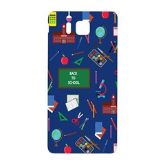 Back To School Samsung Galaxy Alpha Hardshell Back Case by Valentinaart