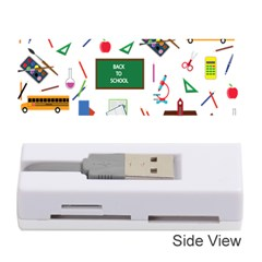 Back To School Memory Card Reader (stick)  by Valentinaart