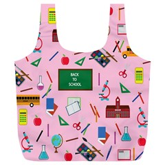 Back To School Full Print Recycle Bags (l)