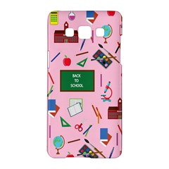 Back To School Samsung Galaxy A5 Hardshell Case  by Valentinaart