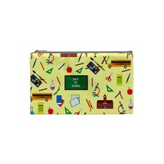 Back To School Cosmetic Bag (small)  by Valentinaart