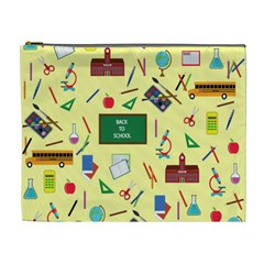 Back To School Cosmetic Bag (xl) by Valentinaart