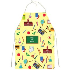 Back To School Full Print Aprons by Valentinaart