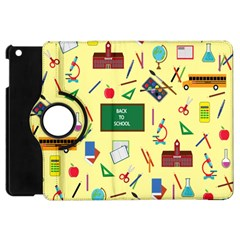 Back To School Apple Ipad Mini Flip 360 Case by Valentinaart