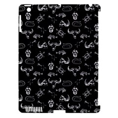 Skeleton Pattern Apple Ipad 3/4 Hardshell Case (compatible With Smart Cover)