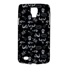 Skeleton Pattern Galaxy S4 Active by Valentinaart