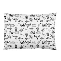 Skeleton Pattern Pillow Case (two Sides) by Valentinaart