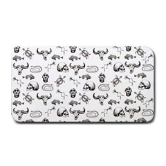 Skeleton Pattern Medium Bar Mats