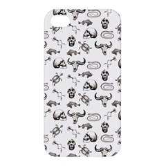 Skeleton Pattern Apple Iphone 4/4s Hardshell Case by Valentinaart