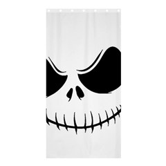 Halloween Shower Curtain 36  X 72  (stall)  by Valentinaart